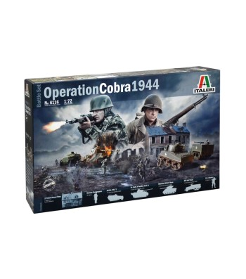 1:72 OPERATION COBRA 1944 ( BATTLESETS)