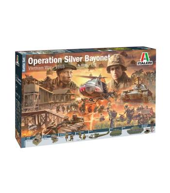 1:72 VIETNAM WAR: Operation Silver Bayonet, 1965 - diorama, 100 figures