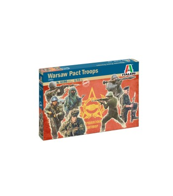 1:72 1980s WARSAW PACT TROOPS - 48 figures