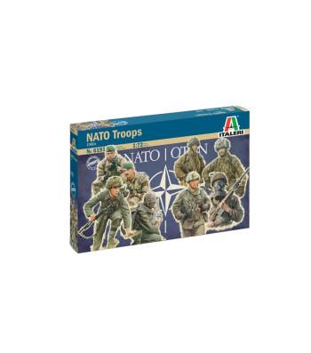 1:72 1980s  NATO TROOPS - 48 figures