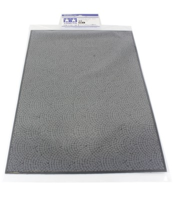 Diorama Sheet - Stone Paving A (A4 format, approximately 297x210mm)
