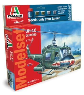 1:72 Bell UH-1C GUNSHIP – Model Set