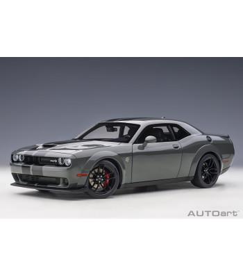 Dodge Challenger SRT Hellcat Widebody 2018 (Destroyer Grey) (composite model/full openings)