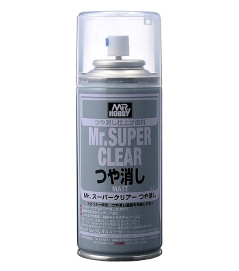 B-514 Mr. Super Clear Flat Spray (170 ml)