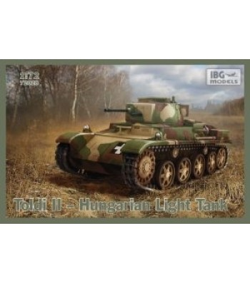 1:72 TOLDI II Hungarian Light Tank