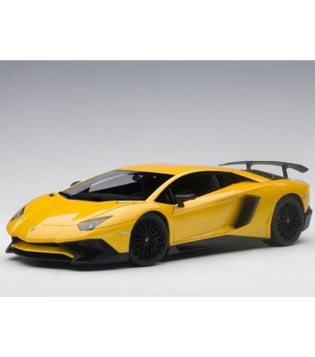 Lamborghini Aventador LP750-4 SV (new giallo orion/pearl yellow) 2015 (composite model/full openings) wihout SV logo