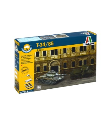 1:72 T-34/85 RUSSIAN TANKм, set of 2 models - Fast Assembly