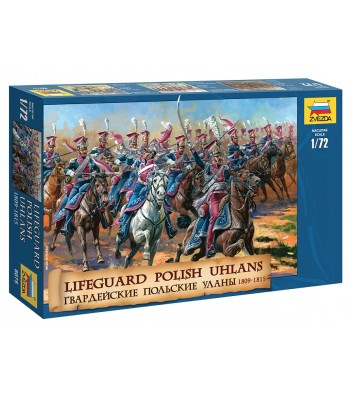 1:72 Lifeguard Polish uhlans 1809-1815 - 18 figures