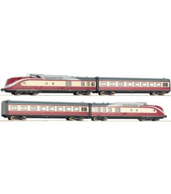 """Diesel powered rail car train Class BR 601, """"Alpen-See Express"""", DB"""