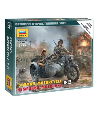 1:72 German Motorcycle R-12