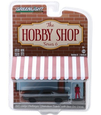 "1971 Dodge Challenger ""Shakedown"" (SEMA Concept) with Race Car Driver Solid Pack - The Hobby Shop Series 6"