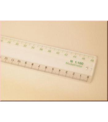 Scale ruler N