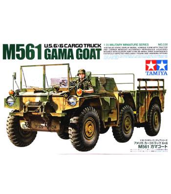 1:35 American 6x6 M561 Gamma Goat - 1 figure