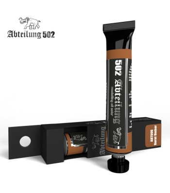 ABT006 Burnt Umber 20 ml - Abteilung 502 Oil paint