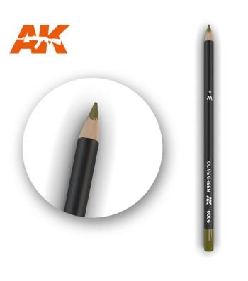 AK10006 Watercolor Pencil Olive Green (1 piece )