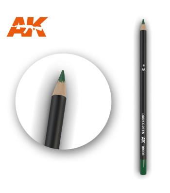 AK10008 Watercolor Pencil Dark Green (1 piece )