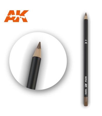 AK10010 Watercolor Pencil Sepia (1 piece )