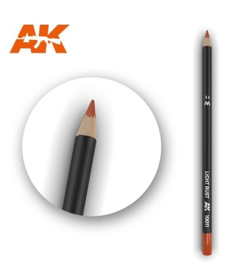 AK10011 Watercolor Pencil Light Rust (1 piece )