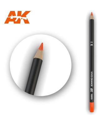 AK10015 Watercolor Pencil Vivid Orange (1 piece )