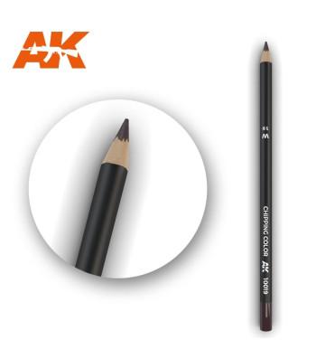 AK10019 Watercolor Pencil Chipping Color (1 piece )