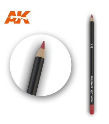 AK10020 Watercolor Pencil Red Primer (1 piece )