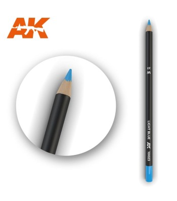 AK10023 Watercolor Pencil Light Blue (1 piece )