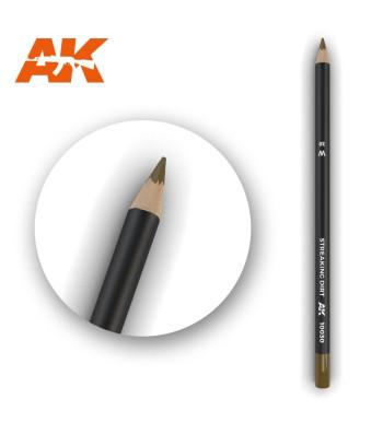 AK10030 Watercolor Pencil Streaking Dirt (1 piece )
