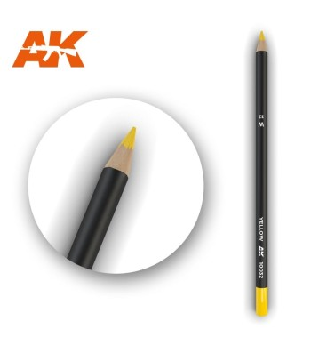 AK10032 Watercolor Pencil Yellow (1 piece )