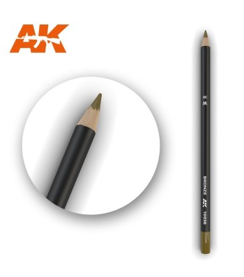 AK10036 Watercolor Pencil Bronze (1 piece )