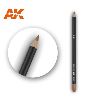 AK10037 Watercolor Pencil Copper (1 piece )