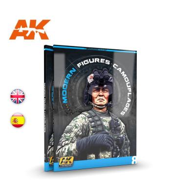 AK247 AK Learning 8 - Modern Figures Camouflages (EN)