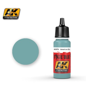 AK3079 American Blue - Figure Series Acrylic Paints (17 ml)