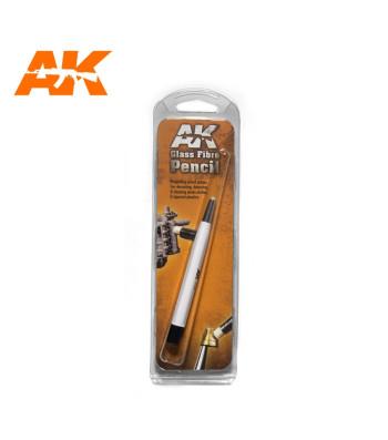 AK8058 Glass Fibre Pencil (4 mm) - Modelling tool