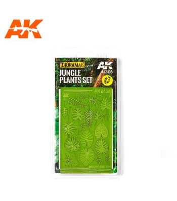 AK8138 Jungle Plants Set (1:32 and 1:35)