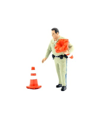 FIGURINES - POLICE SERIES HIGHWAY PATROL - 2