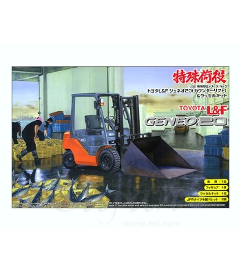 1:32 Toyota L&F Geneo 20 (Counter Lift) & Russell Set