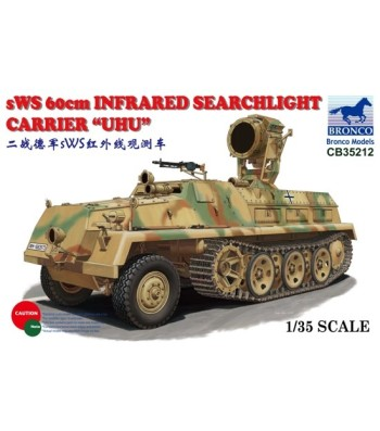 1:35 sWS 60cm Infrared Searchlight Carrier 'UHU'