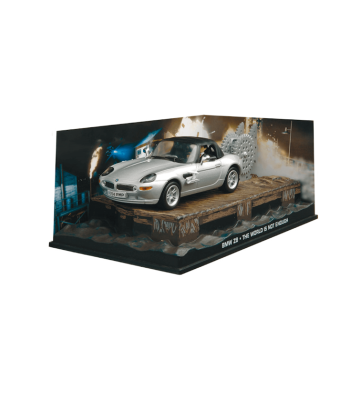BMW Z8 James Bond - The World Is Not Enough - Silver