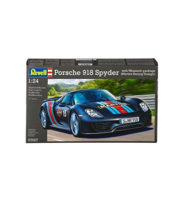 1:24 Porsche 918 Spyder with Weissach package