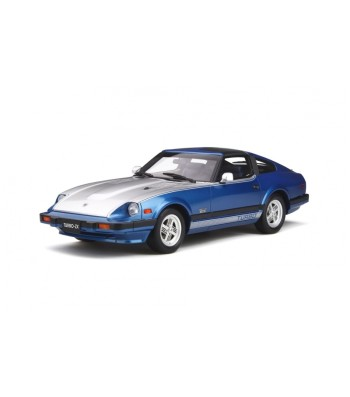 DATSUN 280 ZX TURBO CADET BLUE MET - FOX SILVER