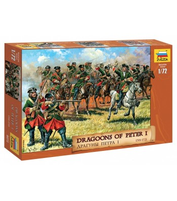 1:72 DRAGOONS OF PETER THE GREAT - 19 figures