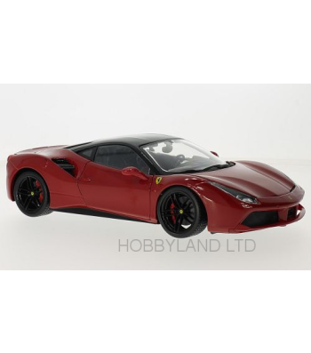 Ferrari 488 GTB - Red/Black