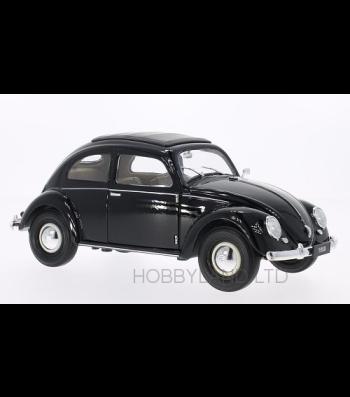 VW Kafer Brezelfenster, black, 1950