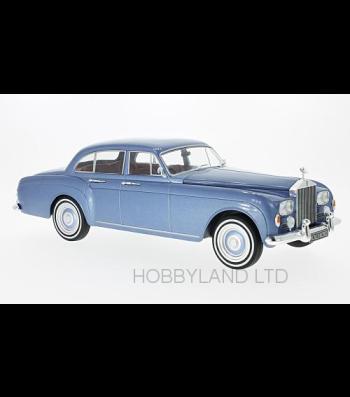 Rolls Royce silver Cloud III Flying track H.J.Mulliner, metallic-light blue, RHD, 1965