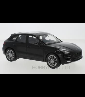 Porsche Macan Turbo, black