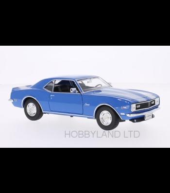 Chevrolet Camaro Z28, blue/white, without showcase, 1968