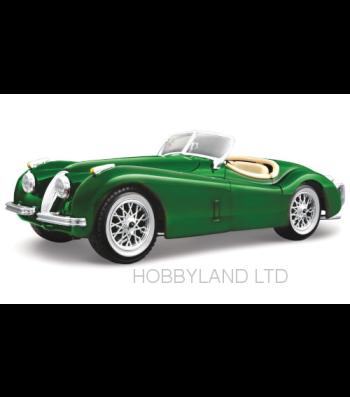Jaguar XK 120 Roadster, green, 1948