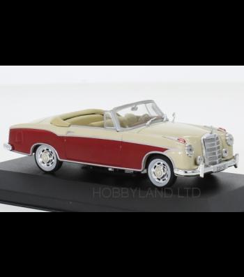 Mercedes 220 SE (W128) Convertible, dark red/beige, 1958
