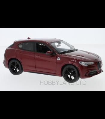 Alfa Romeo Stelvio, dark red