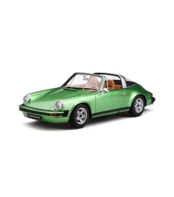 PORSCHE 911 S 2 7 TARGA 1974 GREEN / BEIGE